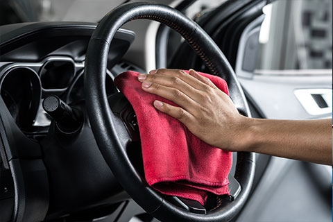 Steering Wheel or Public Toilet Seat: What's Dirtier?