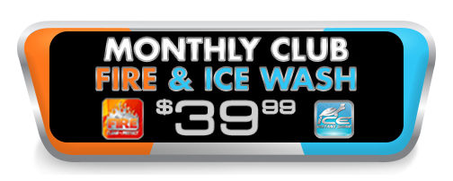 Monthly Wash Fire and Ice